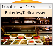 Acrylic and Plastic Bakery and Delicatessen Supplies