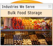 Acrylic and Plastic Bulk Food Storage and Display