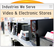 Acrylic and Plastic Video and Electronics Stores Displays and Signs