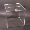 Acrylic Ballot Box with Lock and Key Photo