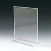 Acrylic Open Bottom Card Holders