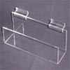 Acrylic slatwall j racks in many sizes!
